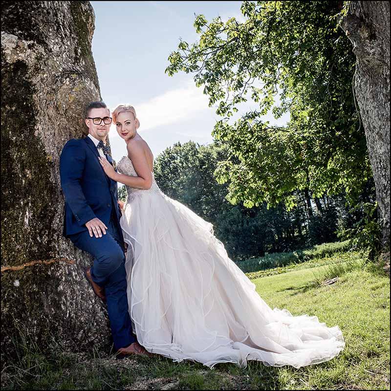 Portrætfotograf til bryllupsfoto